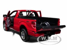 2010 FORD F-150 STX PICKUP TRUCK RED 1/27 DIECAST MODEL CAR BY MAISTO 31270