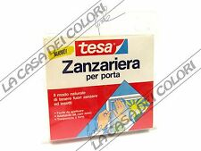 TESA - ZANZARIERA PER PORTE E FINESTRE CON VELCRO - 170 X 130 cm
