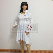 Vampire Knight Cosplay Yuki Satin Dress Costume Custom Made