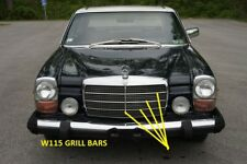 MERCEDES W114 w115 COUPE GRILLE MOULDINGS VERTICAL & HORIZONTAL NEW 1968-1976