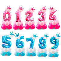 """32"""" Giant Foil Number Digit Helium Large Baloon Birthday Party Wedding Decor DIY"""