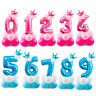 """32"""" Giant Foil Number Digit Helium Large Baloon Birthday Party Wedding Decor INS"""