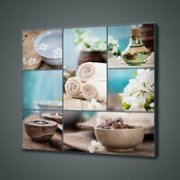 BEAUTIFUL SPA COLLAGE COLLECTION BATHROOM CANVAS PRINT WALL ART PICTURE PHOTO