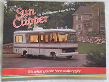 Gulf Stream Sun Clipper Motor Home brochure Feb 1990