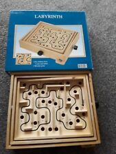 Wooden Labyrinth Puzzle Maze Game