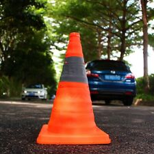 Collapsible Cone Up Road Traffic Cones Accident Emergency Pull Out Safety