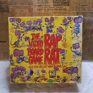 The Rap Rat Video Board Game  Vintage Board game 90s VHS Interactive Game