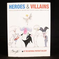 2003 Heroes and Villains Gerald Scarfe First Edition Signed Illustrated