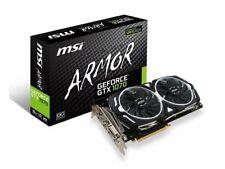 MSI GeForce GTX 1070 ARMOR 8GB OC GDDR5 SLI DirectX 12 VR Ready Video Graphic