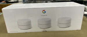 Google WIFI (GA02434-US) - Whole Home Mesh Wifi System 3-Pack.....NEW!!