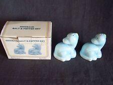baby Dinosaur Salt & Pepper S&P set in the original box, No. 15551 , cute