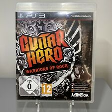 Guitar Hero: Warriors of Rock (2010) For Sony PlayStation 3 - Manual Included