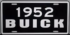 1952 BUICK METAL LICENSE PLATE SUPER RIVIERA ESTATE WAGON CONVERTIBLE ROADMASTER