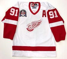 SERGEI FEDOROV 1997 STANLEY CUP DETROIT RED WINGS NIKE AUTHENTIC JERSEY 48