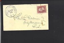 SMITHTOWN BRANCH, NEW YORK COVER #65 VF COVER, SUFFOLK CO DPO. 1849/1953.