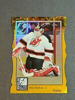 Mike Dunham New Jersey Devils 1997-98 Donruss Elite Status Gold DIe Cut 89/100