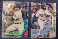 Gavin Lux 2020 Bowman Chrome Mega Box MOJO Insert ROY-GL Los Angeles Dodgers set