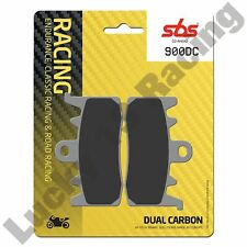 SBS Dual Carbon race front brake pads BMW R S Indian FTR Kymco AK Norton Triump