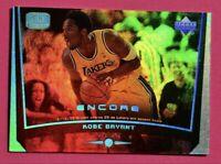 KOBE BRYANT 1999 Upper Deck ENCORE REFRACTOR Game-Dated 4/19/98 #39 MAMBA RARE