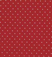 Red Aspirin Polka Dot Cotton Quilting Fabric BTY (YD)