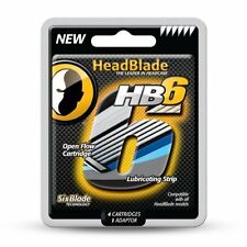 HeadBlade HB6 Replacement Blades Kit -  Pack Of 4
