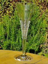 More details for elegant jasper conran stuart waterford cut crystal champagne flute 26cm tall.
