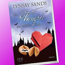 EIN VAMPIR ZUR RECHTEN ZEIT  (Argenau 20)   LYNSAY SANDS   Vampirroman (Buch)
