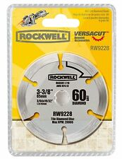 "RW9228 Rockwell 3-3/8"" Diamond Grit Blade for VersaCut Circular Saw"