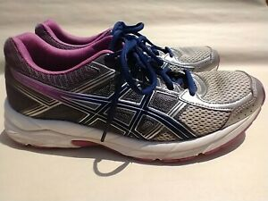 Asics Gel Contend 4 T765N Womens Sz 10 Running Athletic Shoes Sneakers GUC
