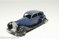 DINKY TOYS 30B 30 B ROLLS ROYCE BLUE WITH BLACK EXCELLENT CONDITION