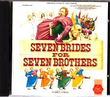 Seven Brides For Seven Brothers -London Cast Soundtrack CD -1986 (Roni Page)