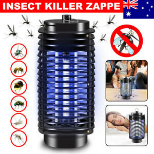 Electric Mosquito Killer Lamp Fly Trap Zapper Catcher Bug Insect Pest Indoor