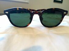 New Moscot Lemtosh havana color sunglasses medium size luxury