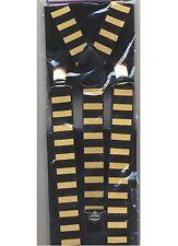 Bretelles abeille noires et jaunes guêpe bourdon Dalton 4608304abeil deguisement