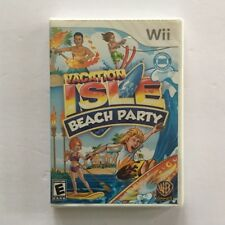 Vacation Isle: Beach Party (Nintendo Wii, 2010) -- NEW SEALED