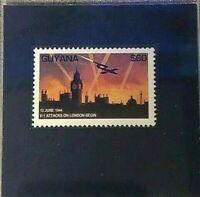 1944 Sixty Dollar Guyana Stamp GMA Gem MT 10