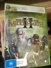 lord of the rings battle for middle-earth II xbox 360