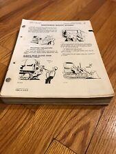Genuine Original John Deere 555 Crawler Loader Repair Shop Service Manual Tm1111
