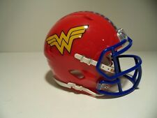 CUSTOM DC COMICS WONDER WOMAN LYNDA CARTER MINI HELMET
