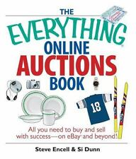The Everything Online Auctions Book: All You Need to Buy and Sell with-ExLibrary