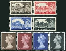 Elizabeth II 1955-1969 Sg 536-Sg 790 High Values Very Fine Used Single Stamps