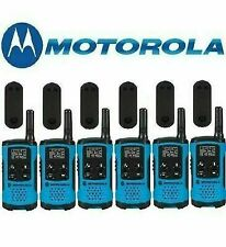 Walkie Talkies 6-PACK Motorola Talkabout T460 Two-Way Radios