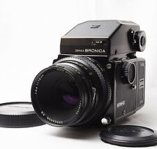 【Excellent+++】Zenza Bronica ETR-C Body W/75mm f/2.8, AE-Ⅱprism finder From Japan