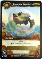 WOW World of Warcraft TCG Loot Card Bloat the Bubble Fish WOW Purple Puffer Pet