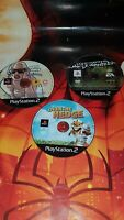 """Playstation 2 Bundle disc only! GTA SAN ANDREAS """"NEED FOR SPEED,OVER THE EDGE"""