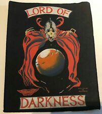 More details for vintage razamataz lord of darkness rock back patch large 37 x 29cm metal horror