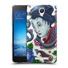Custodia Cover Morbida Trasparente Anukku® Design Geisha Per Modelli Xiaomi