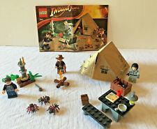 Lego 7624 Indiana Jones Set Jungle Duel 100% Complete Retired