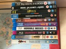 Random Blu-Ray Collection/Bundle, 10 Films, Used