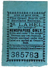 (I.B) Great North of Scotland Railway : Newspapers 2d
